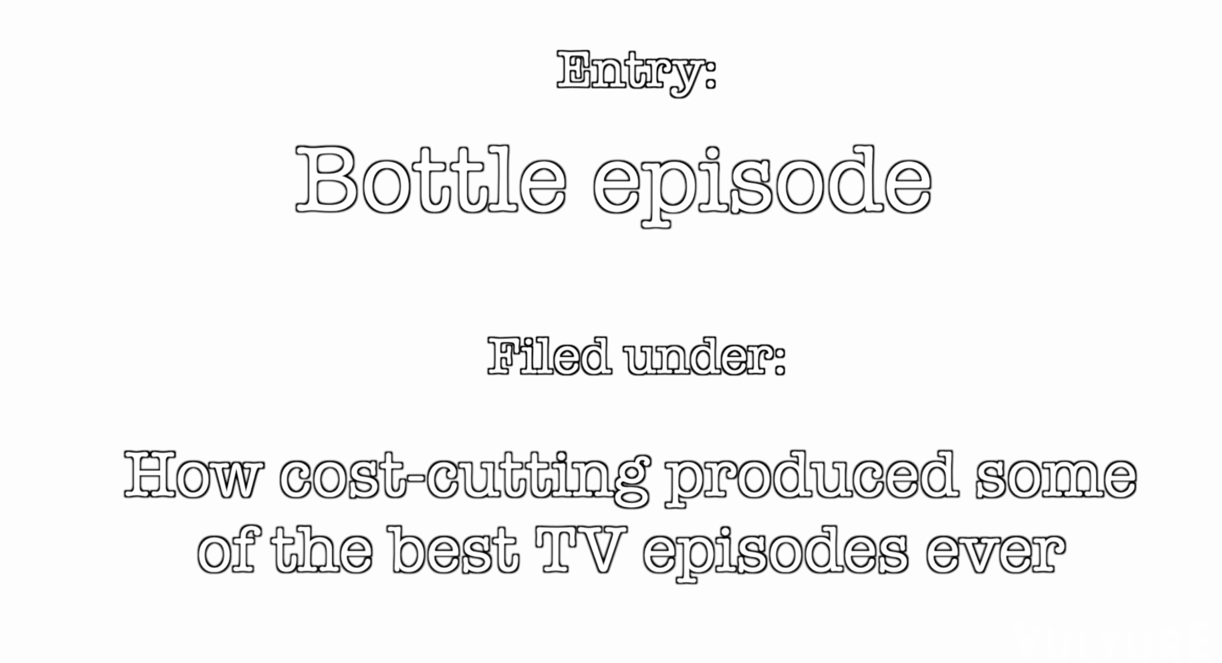 'The Secret History of Television': Why Bottle Episodes Make Great Television